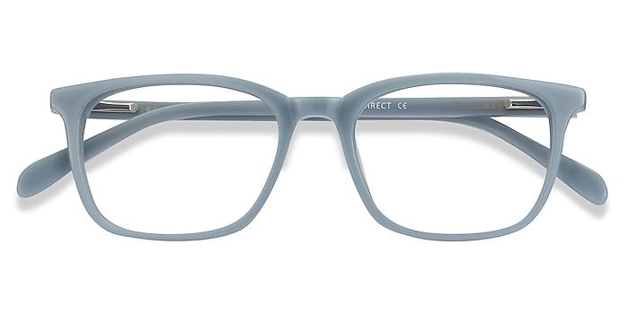 Blue Etched -  Acetate Eyeglasses