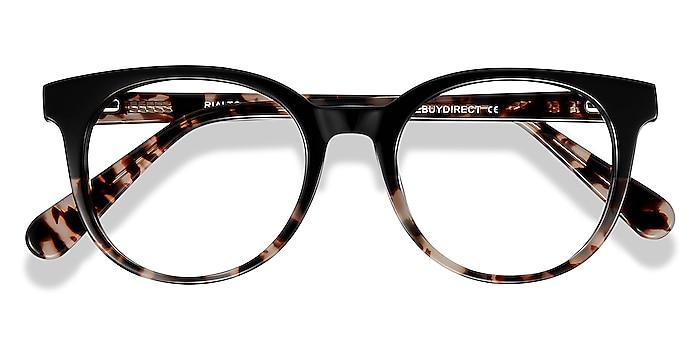 Black Tortoise Rialto -  Acetate Eyeglasses