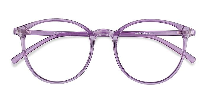 Clear Purple Macaron -  Tendance Plastique Lunettes de vue