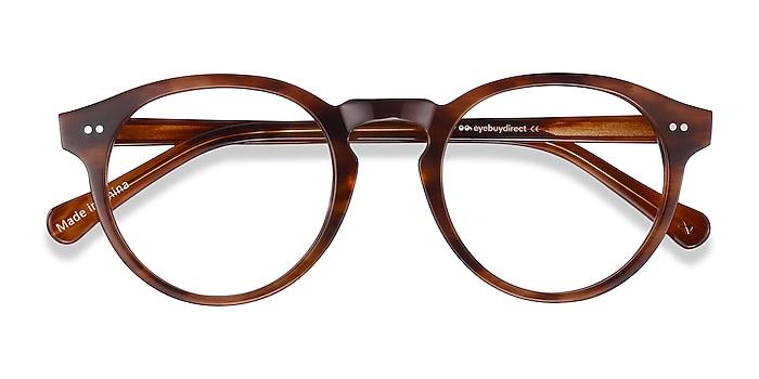Cognac Theory -  Geek Acetate Eyeglasses