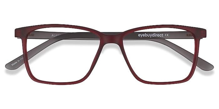Red Alaska -  Lightweight Plastic Eyeglasses