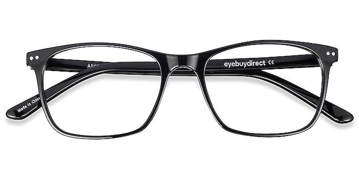 Black Arctic -  Lightweight Plastic Eyeglasses
