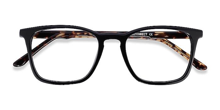 Black Tortoise Phoenix -  Acetate Eyeglasses