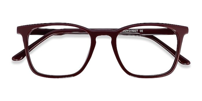 Burgundy Phoenix -  Colorful Acetate Eyeglasses
