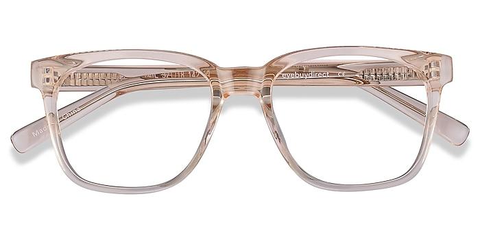 Clear Brown Jamie -  Geek Acetate Eyeglasses