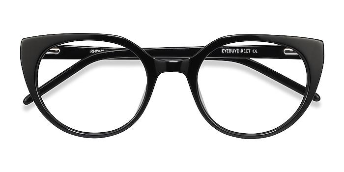 Black Rhyme -  Vintage Acetate Eyeglasses