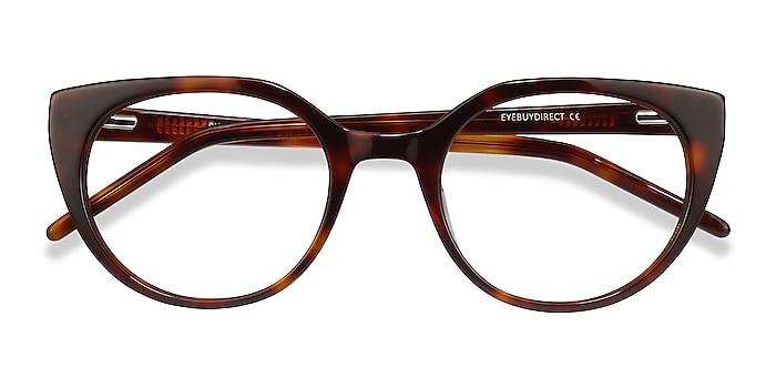 Tortoise Rhyme -  Vintage Acetate Eyeglasses