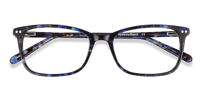 Blue Floral Alette -  Fashion Acetate Eyeglasses