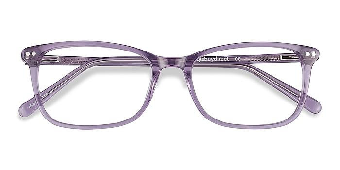 Clear Purple Alette -  Fashion Acetate Eyeglasses