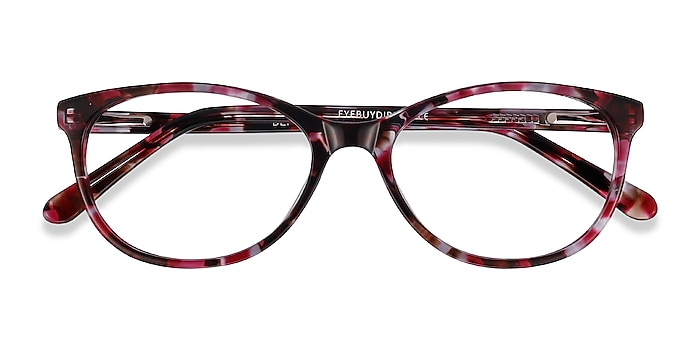 Floral Depth -  Acetate Eyeglasses