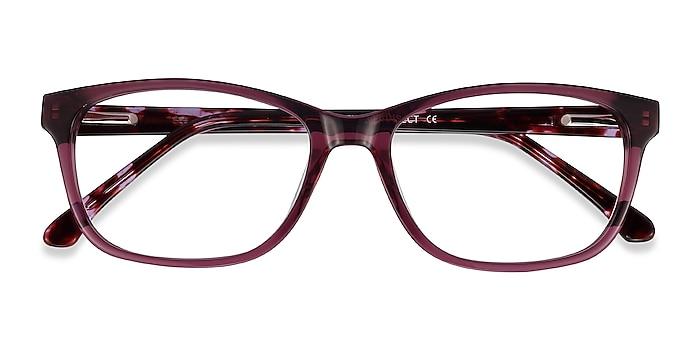 Purple Ayla -  Colorful Acetate Eyeglasses