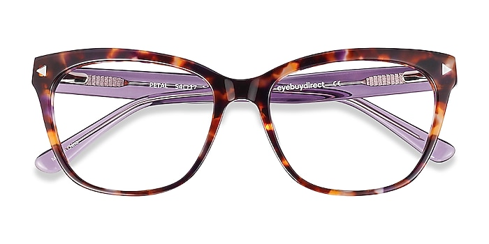 Purple Tortoise Petal -  Fashion Acetate Eyeglasses
