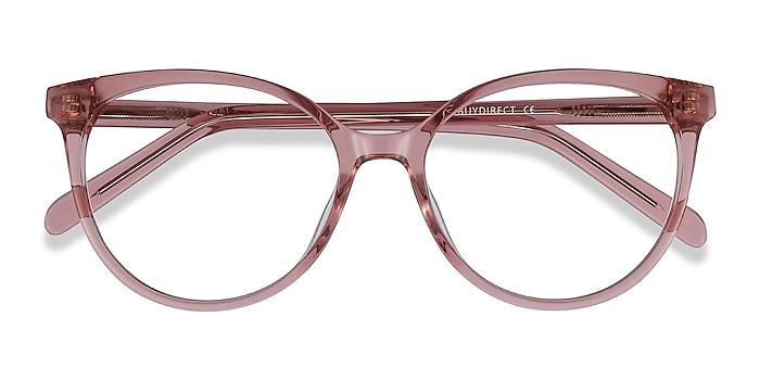 Clear Purple Nala -  Fashion Acetate Eyeglasses
