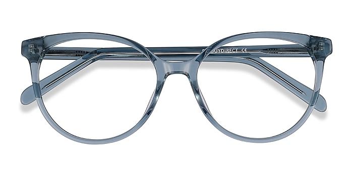Clear Blue Nala -  Fashion Acetate Eyeglasses