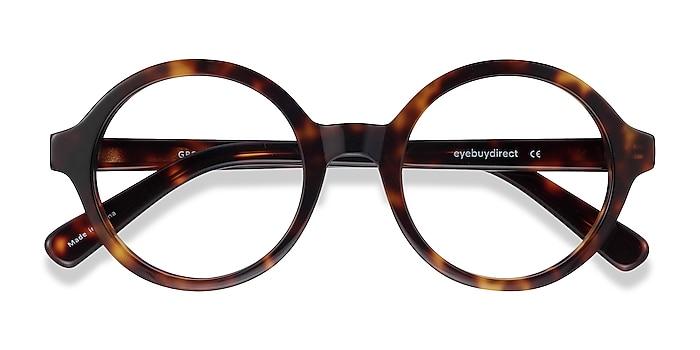 Tortoise Groove -  Vintage Acetate Eyeglasses