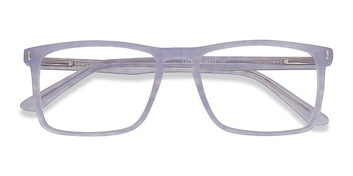 Purple Striped Arise -  Fashion Acetate Eyeglasses