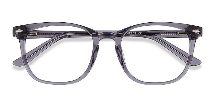 Clear Gray Honor -  Acetate Eyeglasses