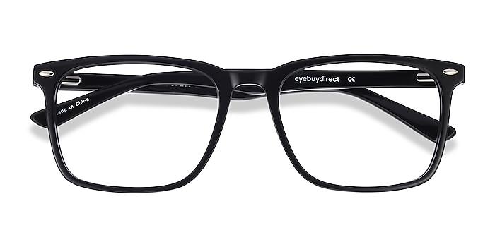 Black Tactician -  Acetate Eyeglasses