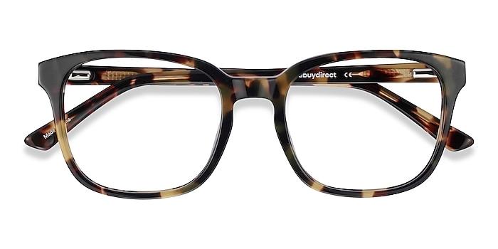 Green Tortoise Tower -  Geek Acetate Eyeglasses