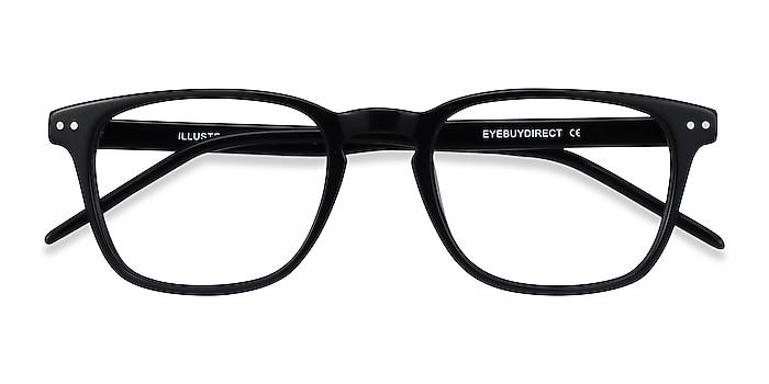 Black Illustrate -  Acetate Eyeglasses