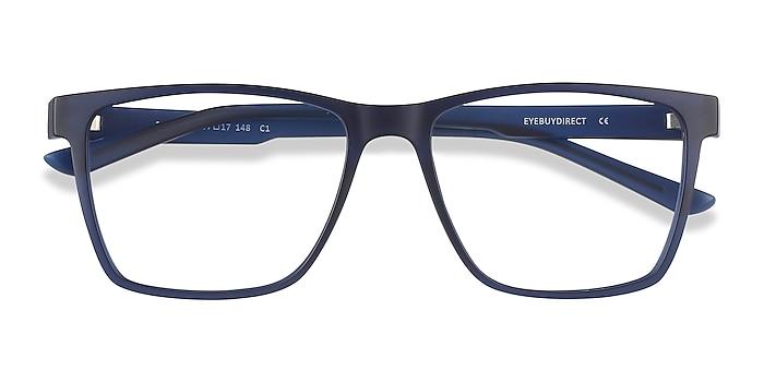 Blue Spencer -  Geek Plastic Eyeglasses