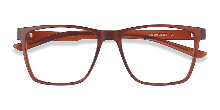 Brown Spencer -  Geek Plastic Eyeglasses
