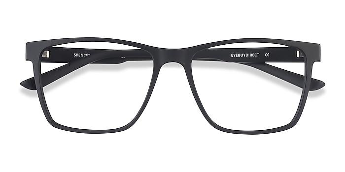 Black Spencer -  Geek Plastic Eyeglasses