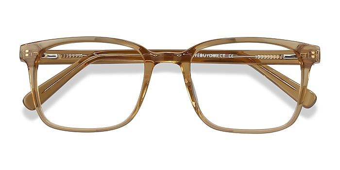 Clear Brown Charlie -  Fashion Acetate Eyeglasses