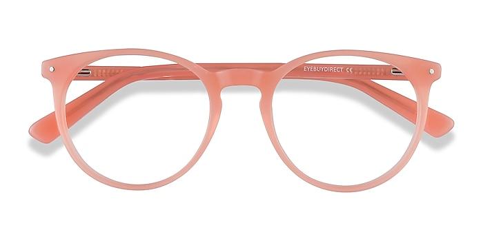 Pink Orange Fleury -  Coloré Acétate Lunettes de vue