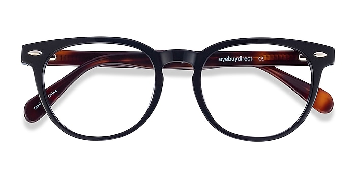 Black Maeby -  Acetate Eyeglasses