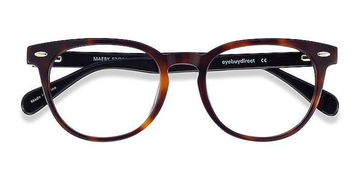Dark Tortoise Maeby -  Acetate Eyeglasses