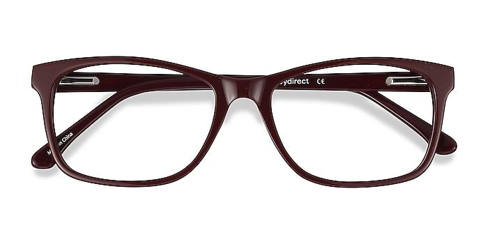 Burgundy Annett -  Acetate Eyeglasses