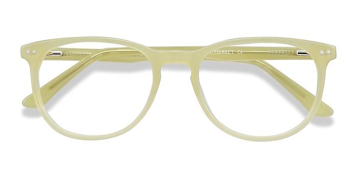 Lime Green Cherbourg -  Fashion Acetate Eyeglasses