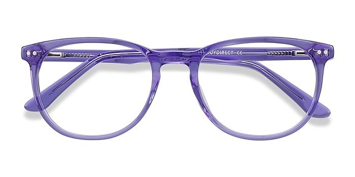 Purple Cherbourg -  Colorful Acetate Eyeglasses