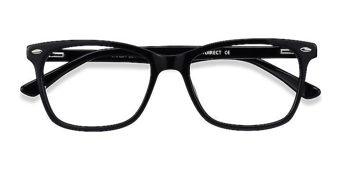 Black Varda -  Acetate Eyeglasses