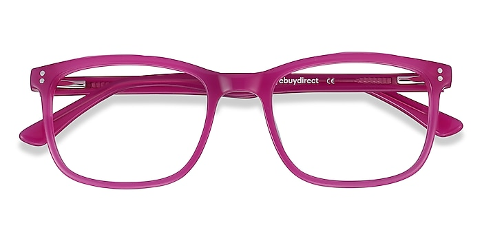 Fuchsia Pink Lugano -  Fashion Acetate Eyeglasses