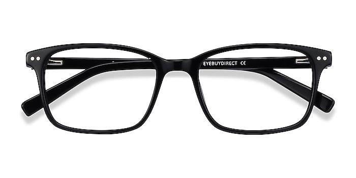 Black Basel -  Acetate Eyeglasses