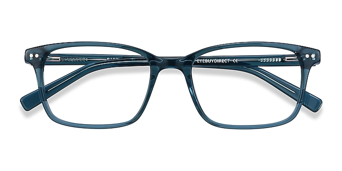 Green Blue Basel -  Colorful Acetate Eyeglasses