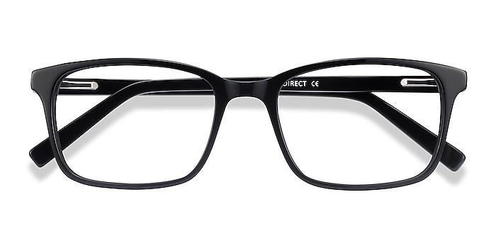 Black Clipperton -  Acetate Eyeglasses