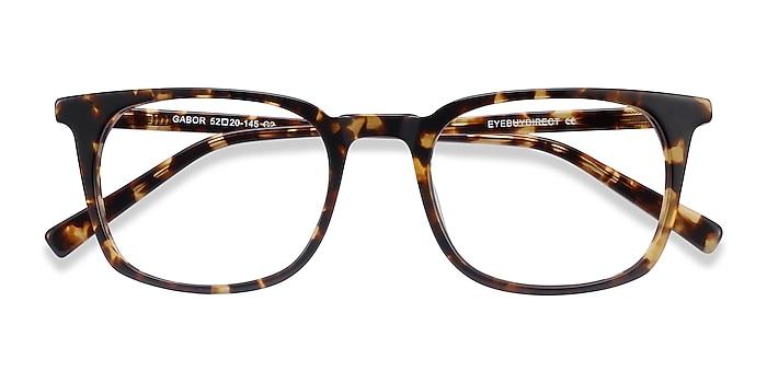 Brown Tortoise Gabor -  Acetate Eyeglasses