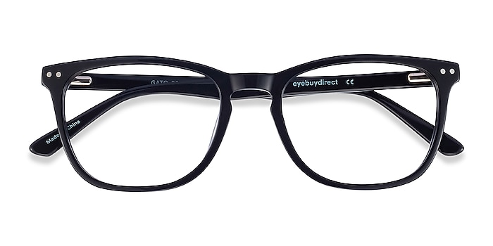 Black Gato -  Acetate Eyeglasses