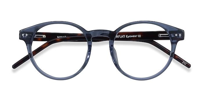 Blue Gray Manara -  Fashion Acetate Eyeglasses