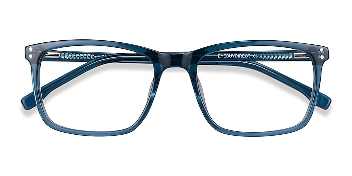 Green blue Connect -  Colorful Acetate Eyeglasses
