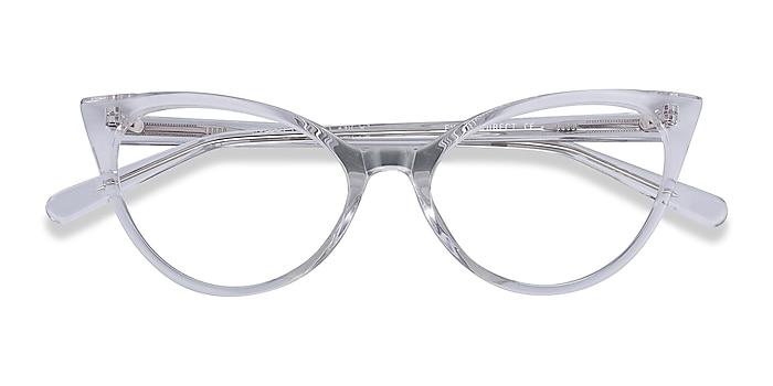 Clear Quartet -  Acetate Eyeglasses