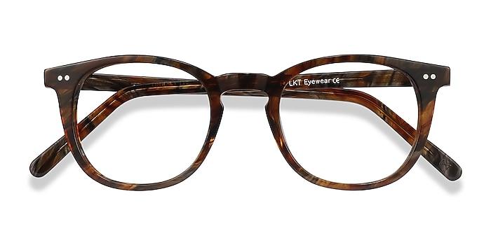 Marbled Havana Ona -  Vintage Acetate Eyeglasses