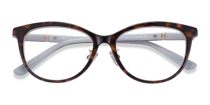 Tortoise Helena -  Acetate Eyeglasses