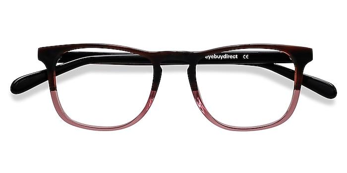 Brown Purple Ville -  Acetate Eyeglasses