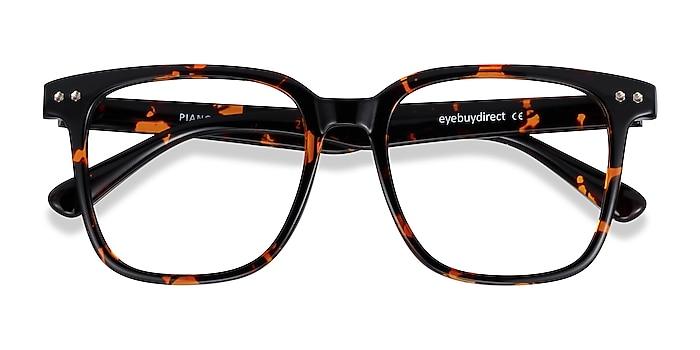 Floral Piano -  Geek Plastic Eyeglasses