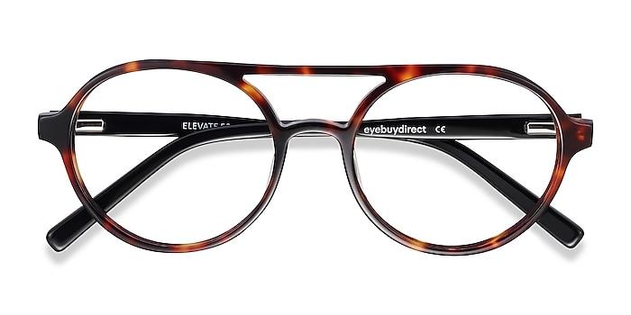 Tortoise Elevate -  Fashion Acetate Eyeglasses
