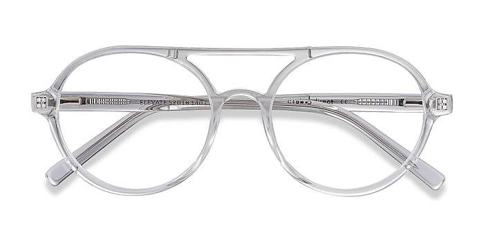 Clear Elevate -  Geek Acetate Eyeglasses